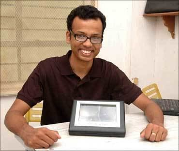 Ajit Narayanan IITians39 boon for kids with cerebral palsy Rediffcom