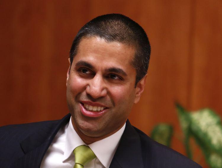 Ajit V. Pai FCC Chair Ajit Pai Swipes Net Neutrality Rules Fortunecom