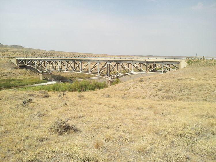 AJX Bridge over South Fork and Powder River