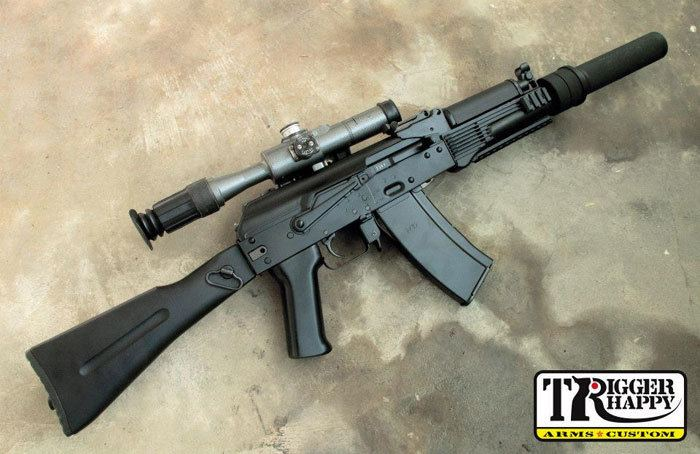 AK-9 Trigger Happy Custom AK9 AEG Project Popular Airsoft