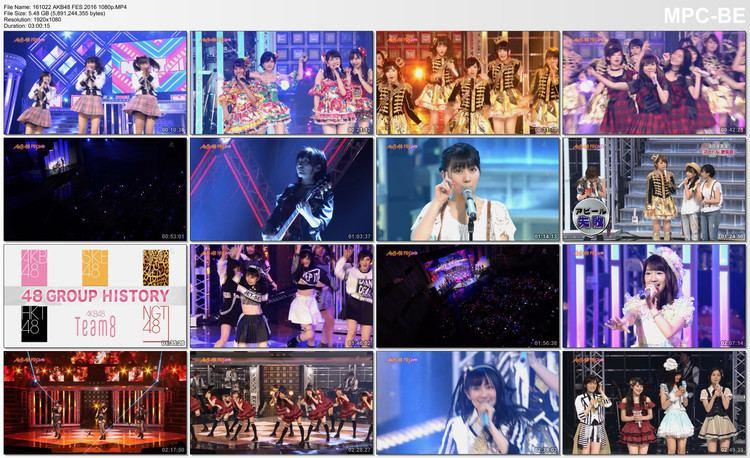 AKB48 Fes 2016 voz48comimagesvideosakb48fes2016nhkpremiu