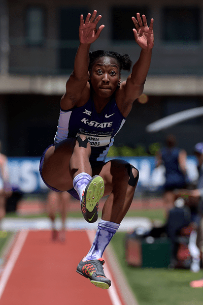 Akela Jones Meeting records broken and challenged at NCAA
