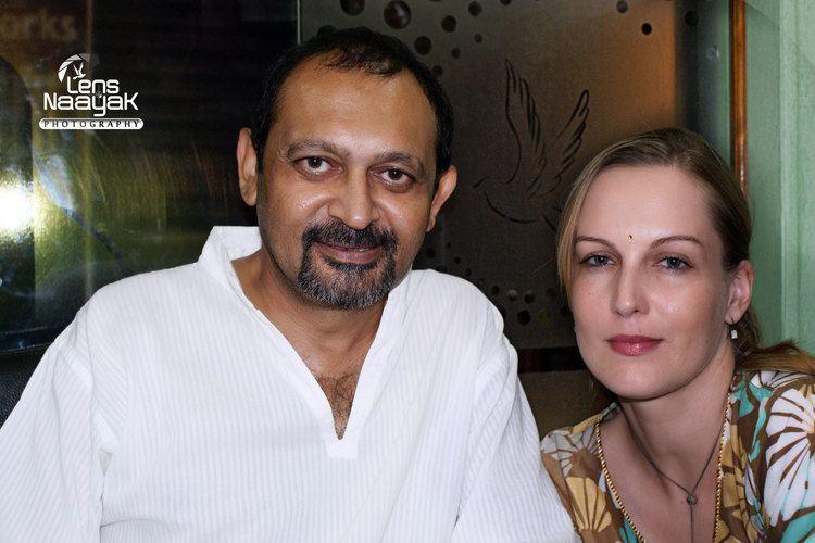 Akhil Mishra FileBollywood Actors Akhil Mishra amp Suzanne Bernert from