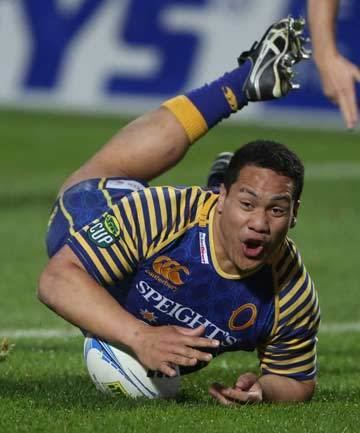 Aki Seiuli Former TBHS captain set for Super Rugby debut Stuffconz