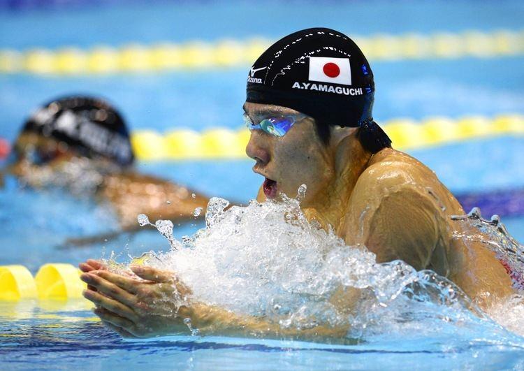 Akihiro Yamaguchi Swimmers Hagino Yamaguchi draw positives from belowpar