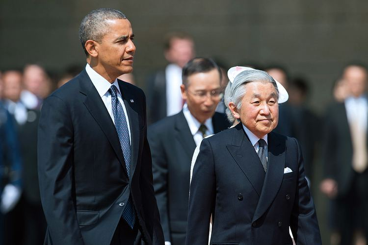 Akihito Barack Obama Akihito of Japan Atlantic Sentinel