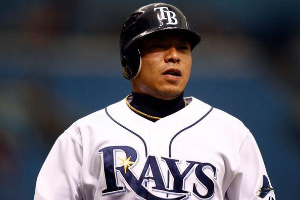 Akinori Iwamura Akinori Iwamura Pictures Texas Rangers v Tampa Bay Rays