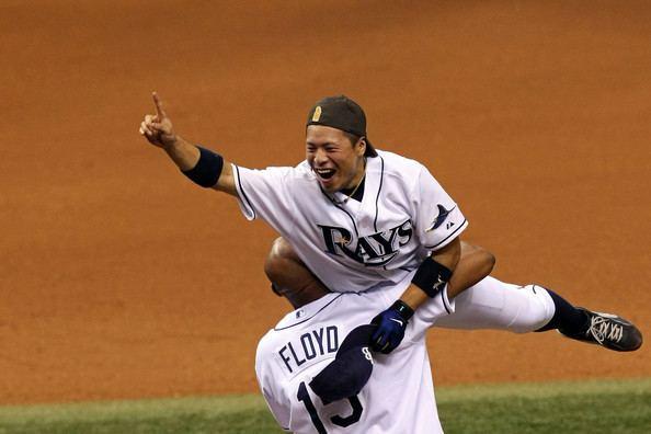 Akinori Iwamura Akinori Iwamura Pictures Boston Red Sox v Tampa Bay Rays