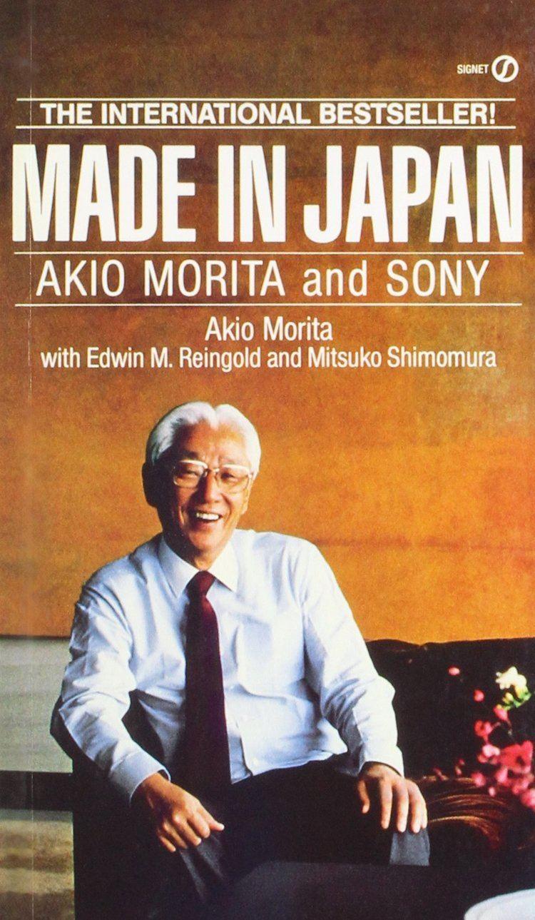 Akio Morita Made in Japan Akio Morita and Sony Signet Amazonde Akio Morita