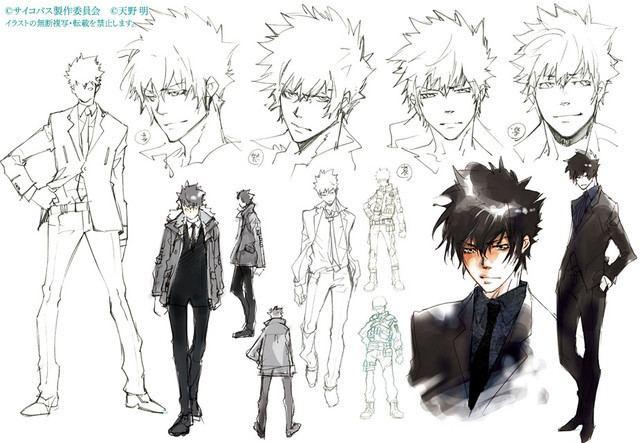Akira Amano Crunchyroll More of Akira Amano39s Original quotPsychoPass