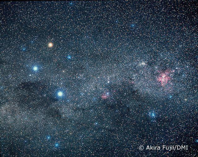 Akira Fujii Akira Fujii the Milky Way and Constellations 3154