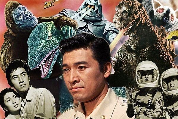 Akira Takarada Godzilla Actors Akira Takarada Haruo Nakajima Appear at Anime