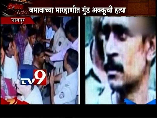On the left, news about Akku Yadav. On the right, Akku Yadav with a mustache.