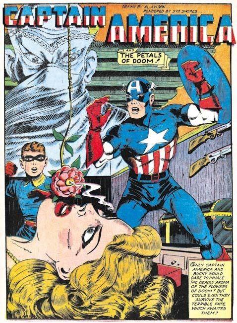 Al Avison The Golden Age of Captain America Al Avison Simon and Kirby