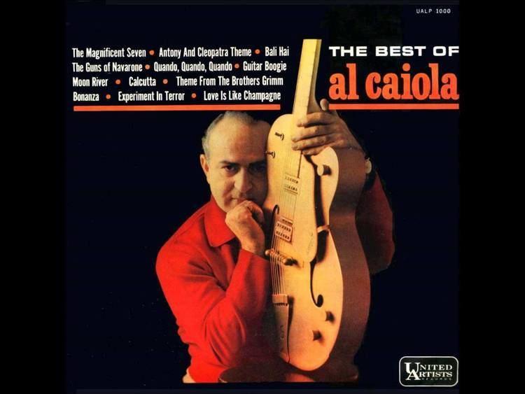 Al Caiola AL CAIOLA EXPERIMENT IN TERROR YouTube