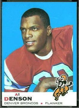 Al Denson (American football) wwwfootballcardgallerycom1969Topps110AlDens