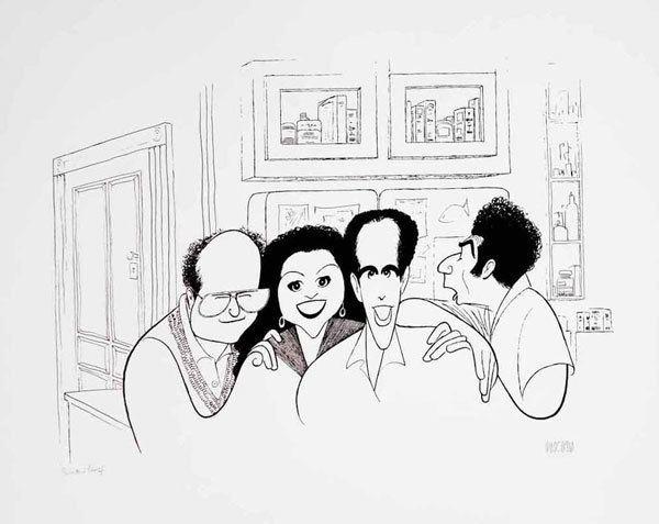 Al Hirschfeld Al Hirschfeld Drawings and Prints Art Gallery at