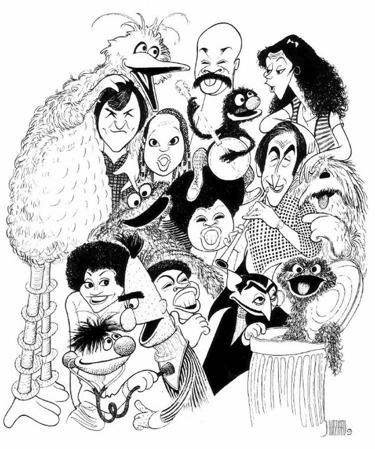 Al Hirschfeld Al Hirschfeld Draws Inspiration from Daytime The Emmy