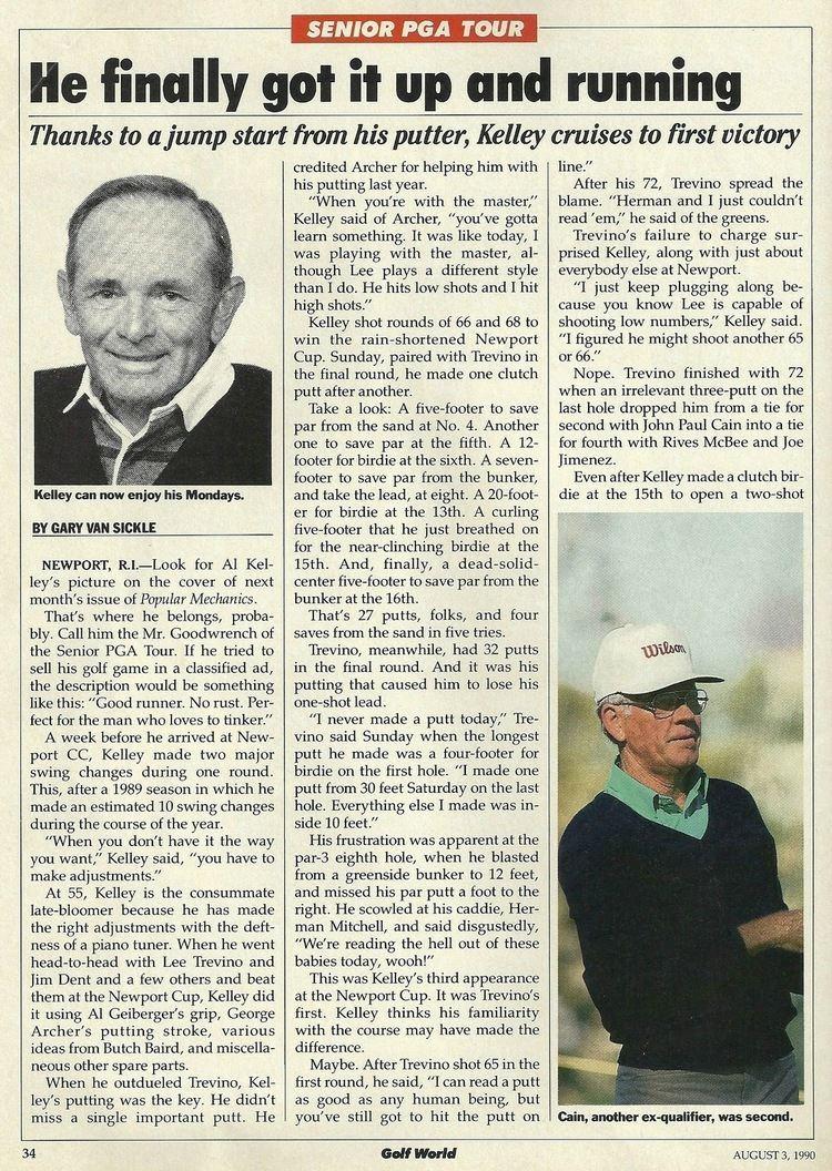 Al Kelley Al Kelley News AKN Elwell Golf