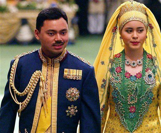 Al-Muhtadee Billah AlMuhtadee Billah and Sarah Salleh Most Expensive