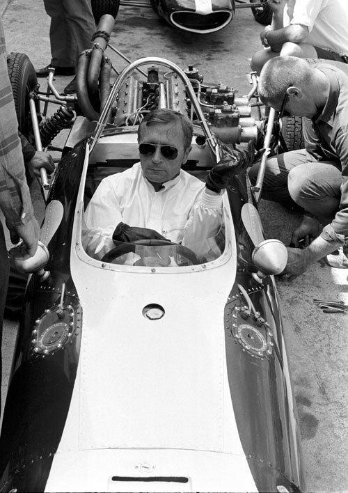 Al Pease Al Pease at the wheel of an EagleClimax Formula 1