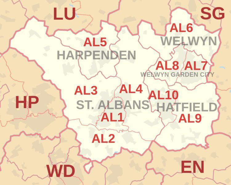 AL postcode area