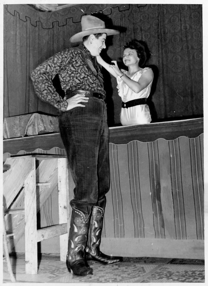 Al Tomaini Al The Giant And Jeanie The Half Girl Tomaini