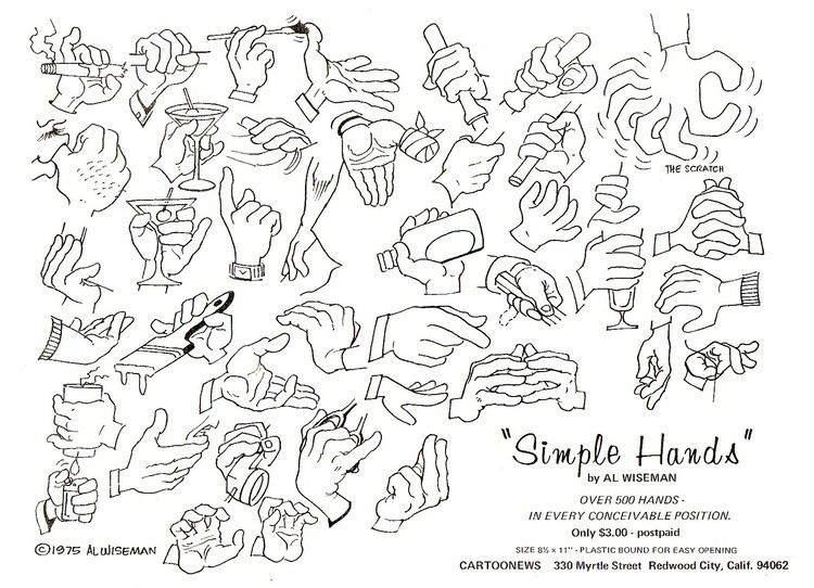 Al Wiseman Mike Lynch Cartoons Simple Hands by Al Wiseman