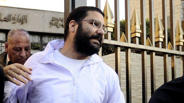 Alaa Abd El-Fattah Revolutionary blogger freed in Egypt CNNcom