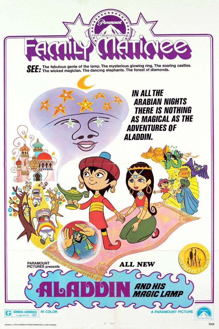 Aladdin va cay den than full 1966 aladdin and his magic lamp vietsub