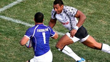 Alafoti Fa'osiliva Alafoti Faosiliva39s huge hit charge and try against Fiji
