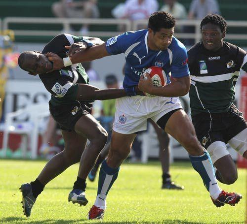 Alafoti Fa'osiliva Samoa39s Alafoti Fa39osiliva storms forward Rugby Union