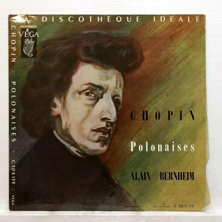 Alain Bernheim Chopin polonaises by Alain Bernheim LP with elyseeclassic Ref