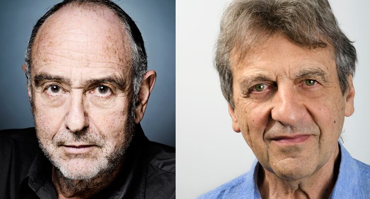 Alain Boublil ClaudeMichel Schnberg and Alain Boublil in Residence Department