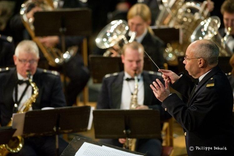 Alain Crepin Afscheidsconcert voor dirigent Alain Crepin Belgium Defence
