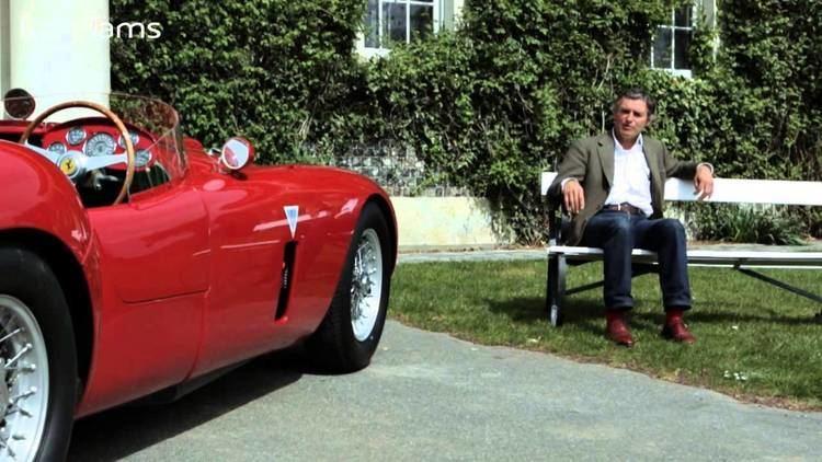 Alain de Cadenet Ferrari 375 with Alain de Cadenet YouTube