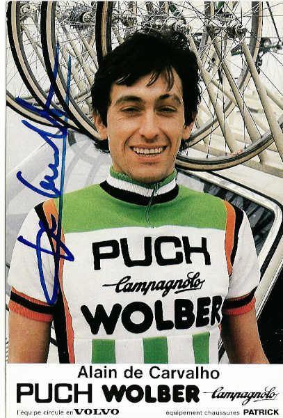 Alain De Carvalho Comptiteur ALAIN DE CARVALHO club Cyclisme ASPTT BRIVE La