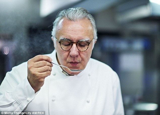 Alain Ducasse Is this the end of haute cuisine Alain Ducasse takes meat and cream