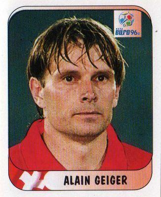 Alain Geiger SWITZERLAND Alain Geiger 37 MERLIN UEFA Euro 96 England