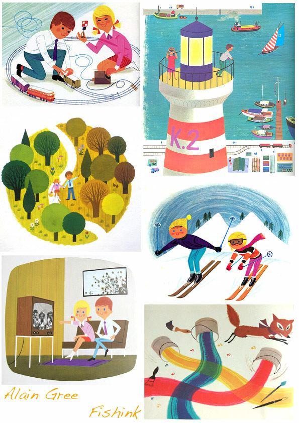 Alain Gree Alain Gre 196039s Illustrator and Author