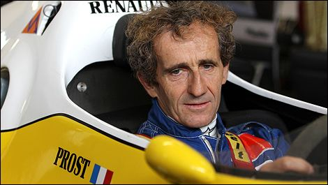 Alain Prost Alain Prost Formula 1 world champion AlainProstcom