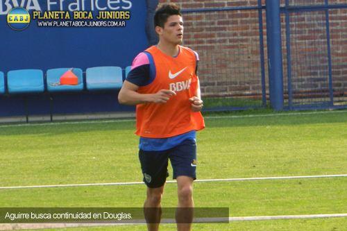 Alan Aguirre Alan Aguirre cedido a Douglas Haig Planeta Boca Juniors