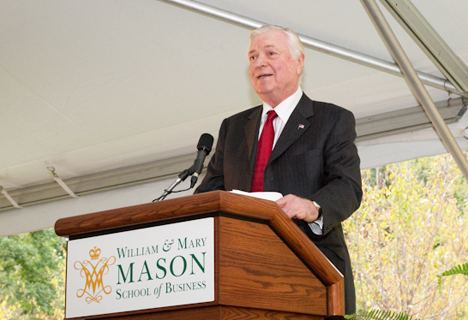Alan B. Miller Alan B Miller Hall dedicated on October 2 2009 William Mary