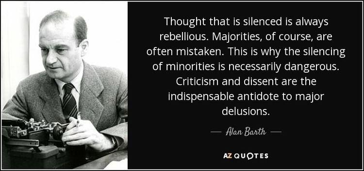 Alan Barth TOP 8 QUOTES BY ALAN BARTH AZ Quotes