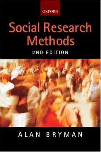 Alan Bryman Social Research Methods by Alan Bryman