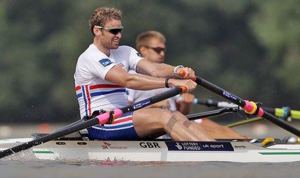 Alan Campbell (rower) Alan Campbell cut from GB rowing world championships squad
