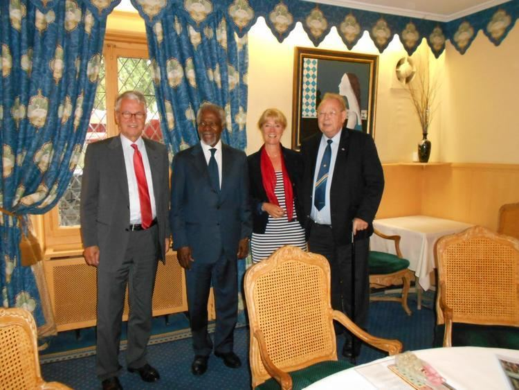 Alan Doss Meeting Mr Kofi Annan and Mr Alan Doss