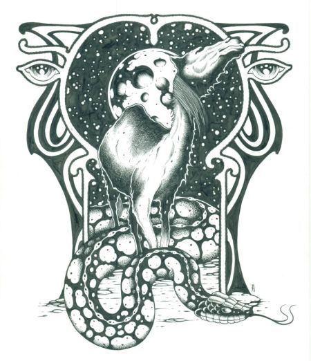 Alan Forbes Black Crowes Secret Serpents