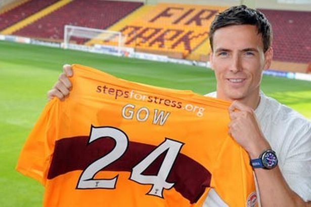 Alan Gow Alan Gow hits back at Swindon jibes as he seals Motherwell