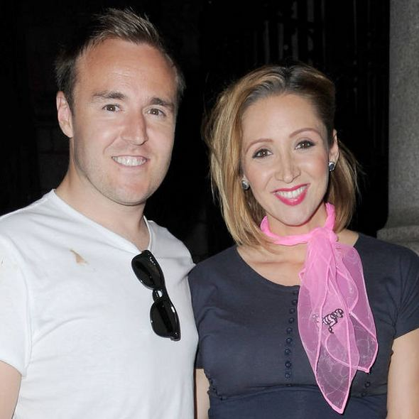 Alan Halsall Soap stars Alan Halsall and wife LucyJo Hudson become
